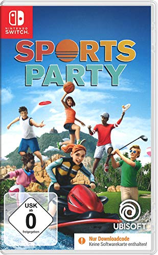 Sports Party - [Nintendo Switch]   Code in der Box