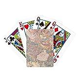Rusty áspero Hierro Textura Rust Poker Jugando Magic Card Fun Juego de mesa