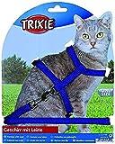 Trixie 4185 Katzengeschirr mit Leine, Nylon, 22–42 cm/10 mm, 1,25 m