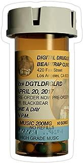 Story Storm Store Digital druglord Pill Bottle Merch - blackbear Stickers (3 Pcs/Pack)