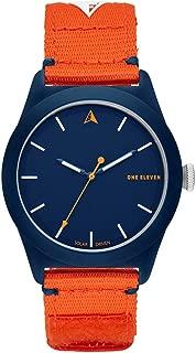 One Eleven Analog-Quartz Watch with Nylon Strap, Orange, 22 (Model: CBOE2012