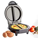 VonShef Omelette Maker – Dual Electric Multi Cooker for Omelettes, Fried & Scrambled