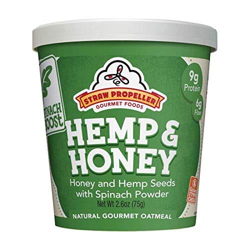Straw Propeller Gourmet Foods - Oatmeal Hemp Beauty products Ho Boost NEW Veggie