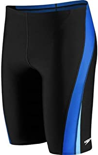 Speedo Men's Jammer Swimsuit-Endurance+ Launch Splice