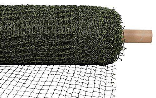 Trixie 44296 Schutznetz auf Rolle, drahtverstärkt, 75 × 2 m, olivgrün