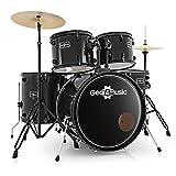 BDK-1 Anfanger-Schlagzeug in Standardgrose von Gear4music schwarz