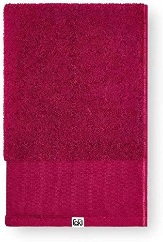 Calvin Klein Riverstone Toalla de Mano, Aldogón orgánico, Boysenberry, 50x100 cm