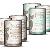 MjAMjAM - Pienso acuoso para Perros - MONOPROTEICO Pack I 3* Pavo y arroz, 3* Cordero 6 x 400 g