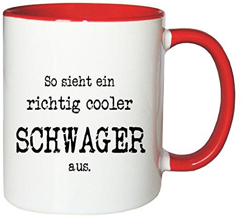 Mister Merchandise koffiemok beker Zo ziet er een echt coole zwager uit. Theekop