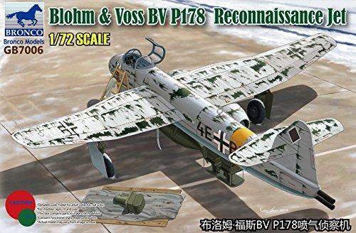 Unbekannt Bronco Models gb7006 – Modèle Kit Blohm et Voss BV p.178 Reconnaissance Jet