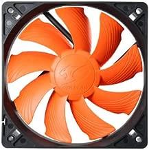 Cougar Turbine Hyperspin 12CM 60 CFM 17.7 dBA Silent Cooling Fan, Orange CFT12S4