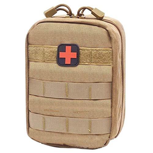 GOXJNG Medizin Box Set Mini Medizinbeutel Rucksack-Spielraum-Erste-Hilfe-Kit Portable Medical Bag Überleben Notversorgung Ideal for Auto Camping Wandern Sport