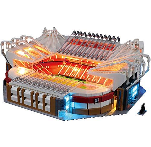 QZPM Licht-Set Für (Creator Expert Old Trafford Manchester United) Modell, LED Licht-Set Kompatibel Mit Lego 10272(Modell Nicht Enthalten)