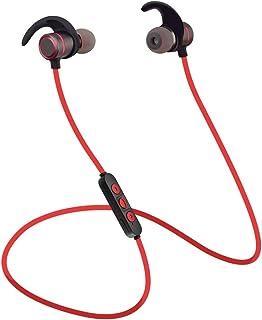 d00f9bb1f9b Auricular Bluetooth, Abafia Auriculares Deporte In-Ear Bluetooth 4.2, CVC  6.0 con Magnética para iPhone X / 8/7 / Note 8 / S9 / S8 / Huawei P20 y  Otro ...