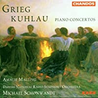 Kuhlau/Grieg: Piano Concertos by LEOPOLD KOZELUCH (1999-01-19)