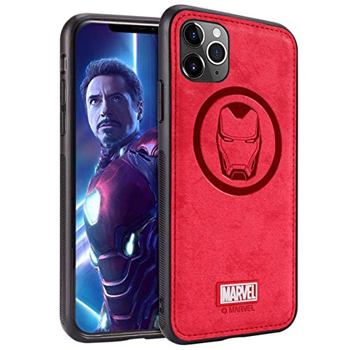 Marvel Avengers iPhone 11 Pro Case, Iron Man (Red)