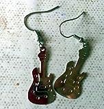 boucles d'oreilles guitare
