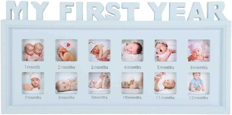 Minneapolis Mall Free shipping on posting reviews Lsaardth Photo Frame for Baby Picture New‑Born