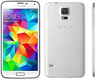 Samsung Galaxy S5 G900A 16GB Unlocked GSM 4G LTE Quad-Core Smartphone 16MP Camera (Renewed) (White)