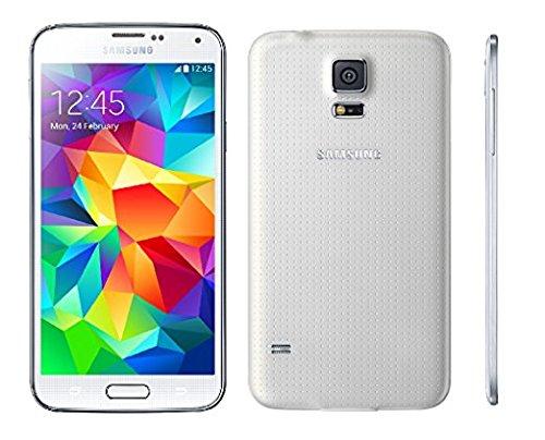 Samsung Galaxy S5 G900A 16GB Unlocked GSM 4G LTE Quad-Core Smartphone 16MP Camera (Renewed) (White)