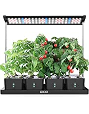 20Pods Indoor Herb Garden, Grow Light for Indoor Plant with 4 Removable Water Tank, Free Timing Setting, 26.77in Adjustable Height