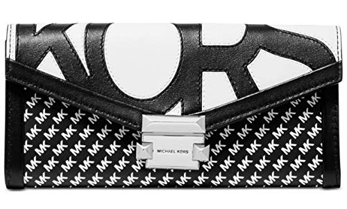 Michael Kors Whitney Large Graphic Logo Chain Wallet