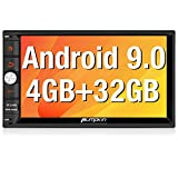 PUMPKIN Android 9.0 Double Din Car Stereo 4GB RAM with GPS and WiFi, BT...