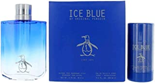 Penguin Original Penguin Ice Blue By Original Penguin Gift Set - (3.4 Oz Eau De Toilette Spray + 2.75 Oz Deodorant Stick Men), 1 Oz