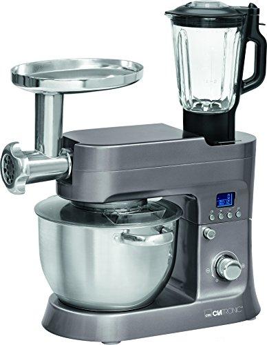 Clatronic KM 3674 Robot de Cocina Multifunción, Batidora Am