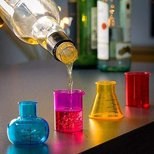 Vasos de Chupito Chemistry Th3 Party (pack de 4)
