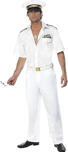directo de fábrica Disfraz de piloto Top Gun Colour Colour Colour blanco M 48 50 traje de avión de combate traje ropa disfraz Pilot  promociones emocionantes