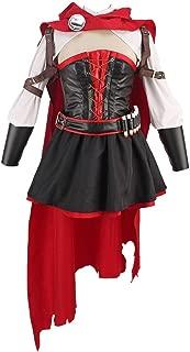 Cosonsen RWBY Season 4 red Ruby Rose Cosplay Costume Full Set