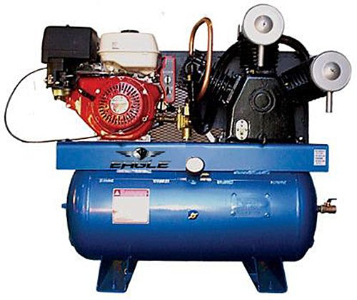 Eagle 13G30TRKE 30-Gallon 200 PSI Gas Powered Truck Mount Compressor