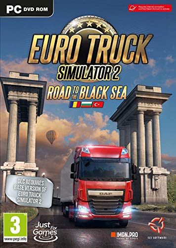 Euro Truck Simulator 2: Road to the Black Sea DLC - Map Extension