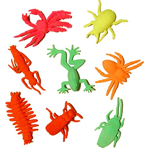 Dazzling Toys 48 Pack Grow-an-Insect Toy Figures 1-2
