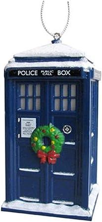 Dr Who Bloc Figure babioles de Noël décoration 12th Dr