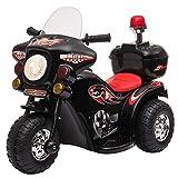 HOMCOM Moto Eléctrica para Niños de +18 Meses Diseño Moto...