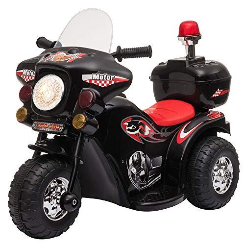 HOMCOM Moto Eléctrica para Niños de +18 Meses Diseño Moto Eléctrica Infantil...
