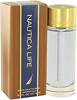 Nautica Life by Nautica Eau De Toilette Spray 3.4 oz for Men - 100% Authentic