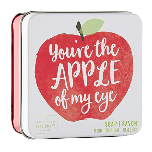 Scottish Fine Soaps You're The Apple Of My Eye Soap Tin 100g