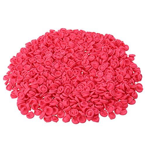 Artibetter 500G Latex Vingerbedjes Wegwerp Vingertoppen Beschermer Vingerhandschoenen (Roze)