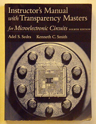 Instructor's Manual with Transparency Masters for