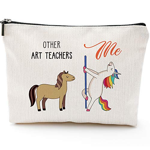 Art Teachers Gifts for Women,Graduation Gifts for Teachers,Art Teachers Fun Gifts, Art Teachers Bags for Women,Art Teachers Makeup Bag, Make Up Pouch,DArt Teachers Birthday Gifts