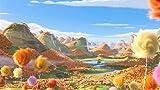 YUBYUB Puzzle 1000 Piezas de Madera del Rompecabezas de Alta dificultad del for Adultos Juguetes de la descompresión Inicio Puzzle Regalos Dr Seuss La película de Lorax/75 * 50 CM