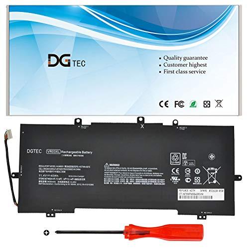 DGTEC New VR03XL Laptop Battery Replacement for HP Envy 13' 13-D023TU 13-D024TU 13-D025TU 13-D046TU 13-D051TU 13-D056TU Pavilion 13-D 13-d000 13-d000ng HSTNN-IB7E TPN-C120 (11.4V 45Wh)