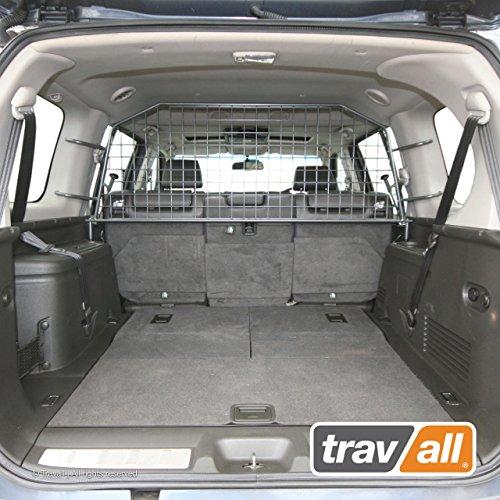 Travall Guard Hundegitter Kompatibel Mit Nissan Pathfinder (2004-2012) TDG1138 - Maßgeschneidertes Trenngitter in Original Qualität