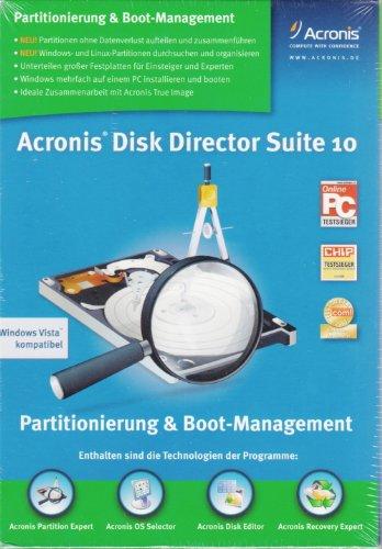 Acronis Disk Director Suite 10 - Mini Box RBOX