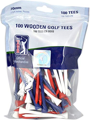 PGA Tour Color Holztees 70 mm / 100 St.