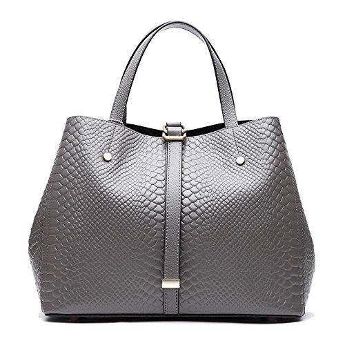 SON-bag Bolso de señora Bolsos de Cuero Bolso de Piel de