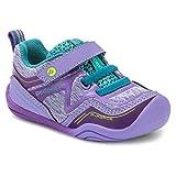 pediped Girls' Force First Walker Shoe, Lavender, 21 Child EU Toddler (5.5 US)